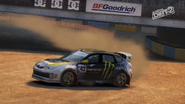 Subaru impreza wrx sti n13 rallycross