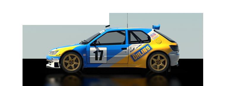 DiRT Rally Peugeot 206 Maxi