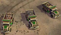 Generals Bomb Truck