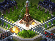 RA2 Beta Eiffel Tower
