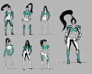 RA3U Izumi Concept Art