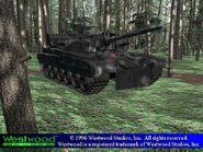 Heavy Tank single-barrel