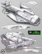 CNCTW Firehawk Predator Concept Art 1