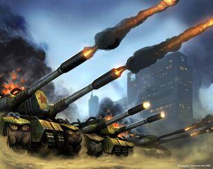 RA3 Apocalypse Tank Concept Art