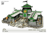 China Barracks concept art