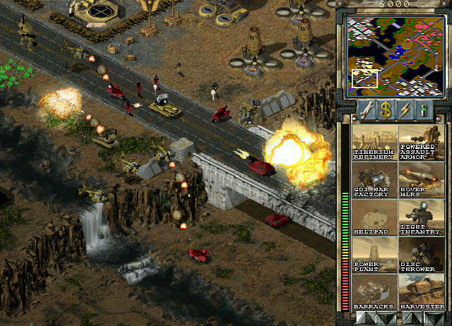 Command & Conquer Tiberian Sun Screenshots