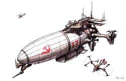 RA2 Aircraft Carrier Zeppelin