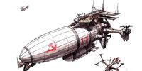 Soviet transport zeppelin