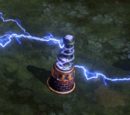 Tesla coil (Red Alert iPhone)