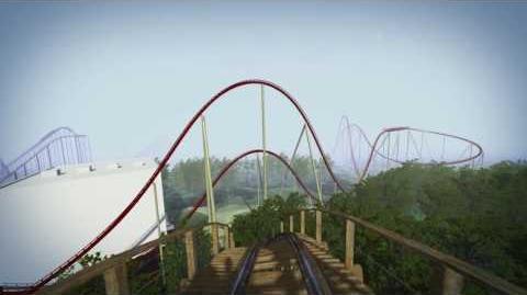 Mystic Timbers at Kings Island POV (Animated)