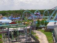 Six Flags NOLA Ferris Wheel View