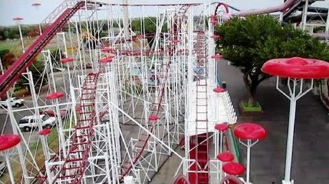 Big Coaster front seat on-ride HD POV Wonderland Amusement Park