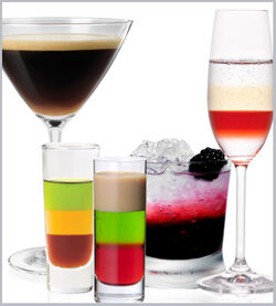 Layered Drink Examples