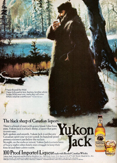 Yukon Jack 1975 advert