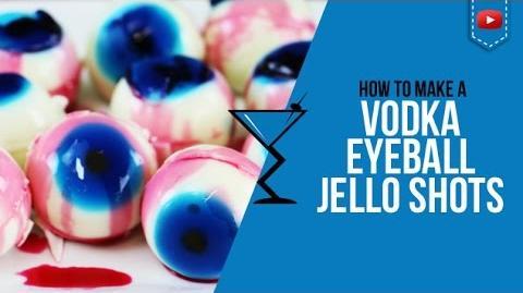 Jello Shots - Vodka Eyeball Jello Shots - Halloween Cocktails - How to make by Drink Lab (Popular)