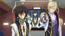 Lelouch and Schneizel