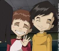 Hiroki introduce Johnny