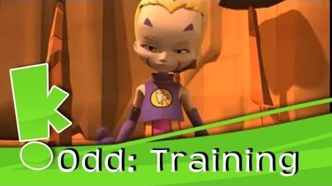 Code Lyoko- Odd Training