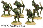 TT408 Pig Faced Orc Archers