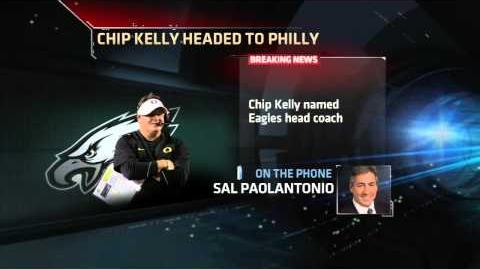 Chip Kelly Named Eagles Coach