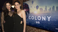 Colony s2 premiere amanda sarah