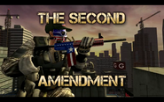 Second Amendment+Patriot Cap+Patriot Skull Mask