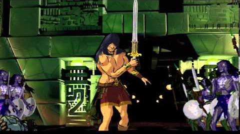 """Conan """"Red Nails"""" Battle rough sequence, with score"""