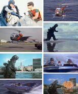 Godzilla vs Batman
