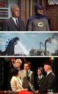 Batman meets godzilla 2