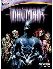 Marvel animation inhumans