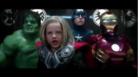The Little Avengers Target Commercial OFICIAL