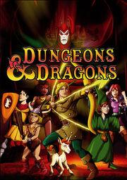Dungeons and Dragons DVD boxset art