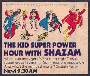 KIDS SUPER POWER HOUR AD