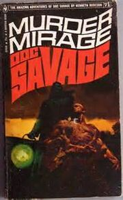 Doc savage MURDER MIRAGE
