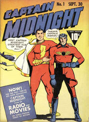 CAPTAIN MIDNIGHT RADIO AD