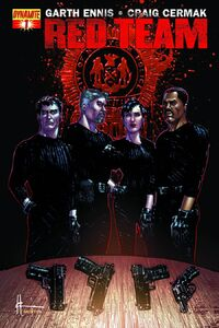 Garth Ennis Red Team 1