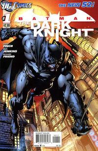 Batman The Dark Knight 2011B 1