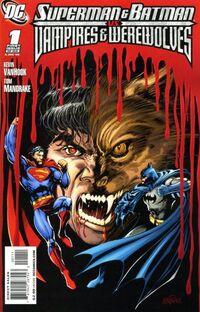 Superman and Batman vs Vampires and Werewolves 1