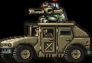 Commando Rush Khaki Humvee