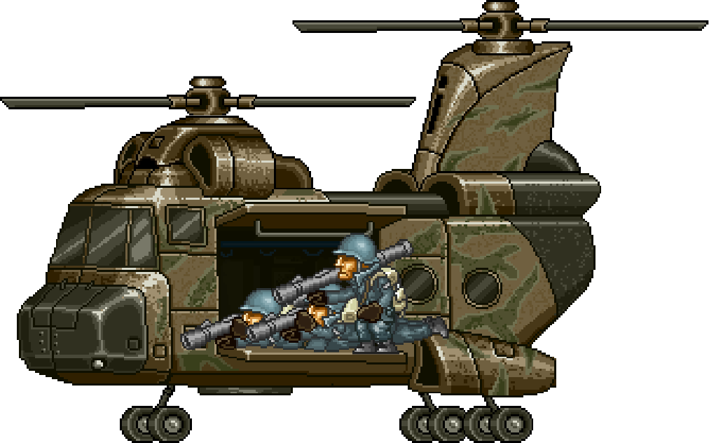 Armored Helicopter