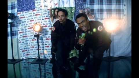 Community - Troy and Abed Christmas Infiltration (with Lyrics)