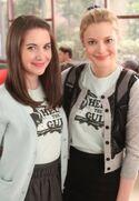Annie and Britta edit