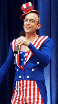 Dean as Uncle Sam