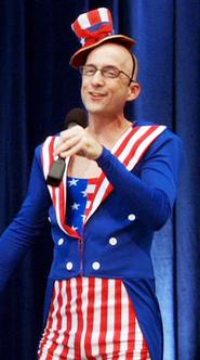 Dean as Uncle Sam