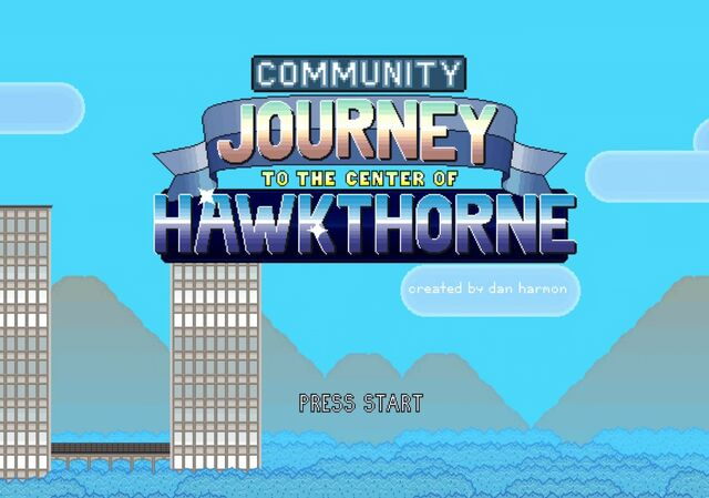 Journey to the Center of Hawkthorne home screen