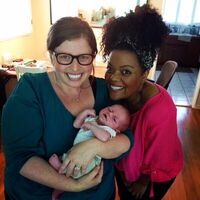 Danielle and Yvette