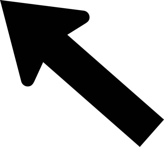 File:Arrow digonal up left.png