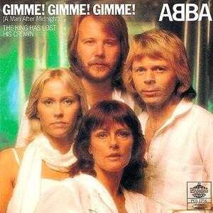 Album cover Gimme , gimme, gimme