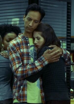 Annie and Abed in Season Five