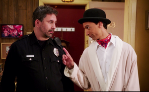 CA The inspector and the officer